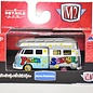 M2 Machines M2 Machines 1959 VW Double Cab Camp Truck USA Model Peace Seeker Tampo 1:64 Scale Diecast Model Car