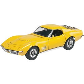 Revell-Monogram RMX Revell 1969 Corvette Coupe Yenko 2'N1 1:25 Scale Plastic Model Kit