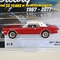 Johnny Lightning Johnny Lightning 1968 Mercury Cougar XR7-G Red Classic Gold 2017 Series Release 1 1:64 Scale Diecast Model Car