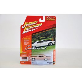 Johnny Lightning Johnny Lightning 1961 Lincoln Continental Champagne Classic Gold 2017 Series Release 1 1:64 Scale Diecast Model Car