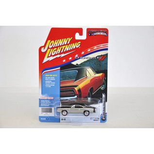 Johnny Lightning Johnny Lightning 1969 Dodge Charger R/T Silver Muscle Cars USA 2017 Series Release 1 1:64 Scale Diecast Model Car