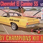 AMT AMT 1968 Chevrolet El Camino SS Derby Champions Kit II With Full Color Display 1:25 Scale Plastic Model Kit
