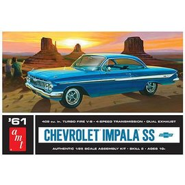 AMT AMT 1961 Chevrolet Impala SS 1:25 Scale Plastic Model Kit