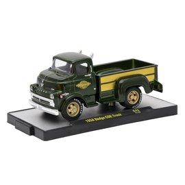 M2 Machines M2 Machines 1958 Dodge COE Truck Green Auto Trucks Series Release 42 1:64 Scale Diecast Model Truck