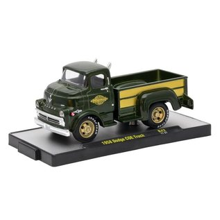 M2 Machines M2 Machines 1958 Dodge COE Truck Green Auto Trucks Series Release 42 1:64 Scale Diecast Model Truck