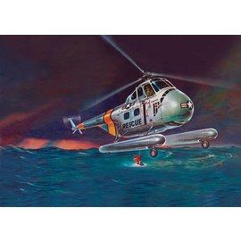 Revell-Monogram RMX Revell H-19 Rescue Helicopter 1:48 Scale Plastic Model Kit