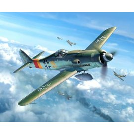 Revell Revell Focke Wulf Fw190D-9 Military Aircraft 1:48 Scale Plastic Model Kit
