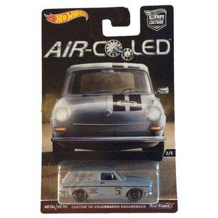 Hot Wheels Mattel Hot Wheels Car Culture Air Cooled Custom '69 Volkswagen Squareback Gray 1:64 Scale Diecast Model Car