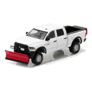 Greenlight Collectibles Greenlight Collectibles Blue Collar Collections Series 2 2016 Ram 2500 With Salt Spreader And Snow Plow 1:64 Scale Diecast Model Car