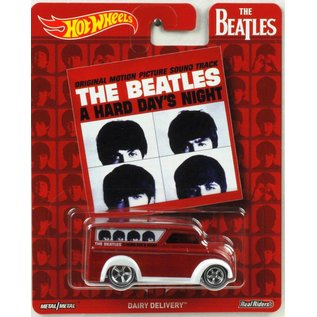 Hot Wheels Mattel Hot Wheels The Beatles Pop Culture Dairy Delivery 1:64 Scale Diecast Model Car