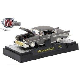 M2 Machines M2 Machines 1957 Chevrolet Bel Air Titanium Series Release 1 1:64 Scale Diecast Model Car