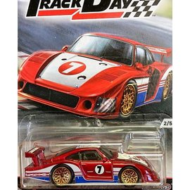 Hot Wheels Mattel Hot Wheels 1978 Porsche 938-78 Red #78 Race Day Series 1:64 Scale Diecast Model Car