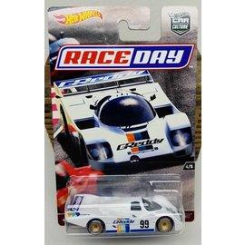 Hot Wheels Mattel Hot Weels Porsche 962 #99 White Car Culture Race Day 1:64 Scale Diecast Model Car