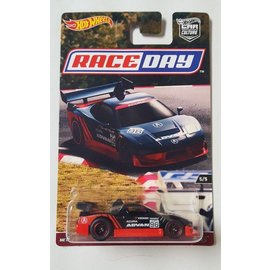 Hot Wheels Mattel Hot Wheels Acura NSX #96 Black Car Culture Race Day Series 1:64 Scale Diecast Model Car