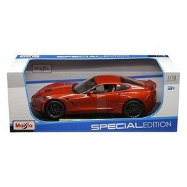 Maisto Maisto 2014 Corvette Stingray Z51 Burnt Orange 1:18 Scale Diecast Model Car