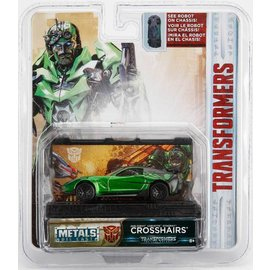 Jada Toys Jada Toys Transformers 2016 Chevy Corvette Stingray Crosshairs Green 1:64 Scale Diecast Model Car