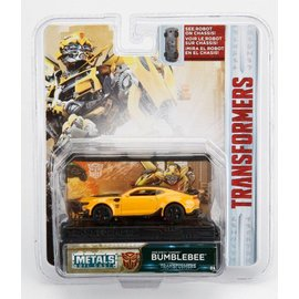 Jada Toys Jada Toys Transformers 2016 Chevy Camaro BumbleBee 1:64 Scale Diecast Model Car
