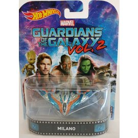 Hot Wheels Mattel Hot Wheels Milano Guardians Of The Galaxy Vol. 2 Retro Entertainment Series 1:64 Scale Diecast Model Car