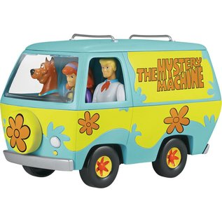 Revell-Monogram RMX Revell Snap Tite The Mystery Machine Plastic Model Kit