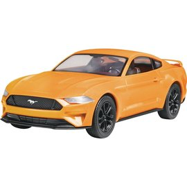 Revell-Monogram RMX Revell Snap Tite Build & Play 2018 Ford Mustang GT 1:25 Scale Plastic Model Kit