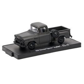M2 Machines M2 Machines Auto Drivers Frozen Black Pearl Series Release 41 1958 Chevrolet Apache Step Side 1:64 Scale Diecast Model Car
