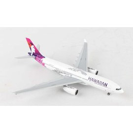 Gemini Jets Gemini jets Hawaiian Airlines Airbus A330-200 1:400 Scale Diecast Model Airplane