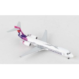 Gemini Jets Gemini Jets Hawaiian Airlines Boeing B717-200 1:400 Scale Diecast Model Airplane
