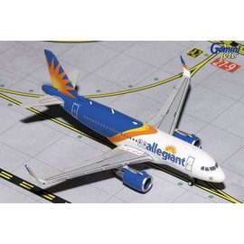 Gemini Jets Gemini Jets Allegiant Air Airbus A319 1:400 Scale Diecast Model Airplane