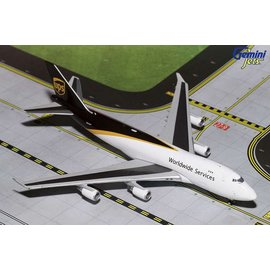 Gemini Jets Gemini Jets UPS Worldwide Services Freight Boeing B747-400F 1:400 Scale Diecast Model Airplane