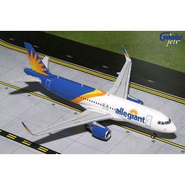 Gemini Jets Gemini Jets Allegiant Air Airbus A320 1:200 Scale Diecast Model Airplane