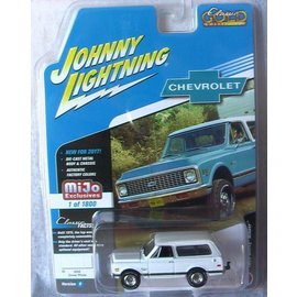 Johnny Lightning Johnny Lightning 1969 Chevy Blazer White MiJo Exclusive 2017 Series 1:64 Scale Diecast Model Car