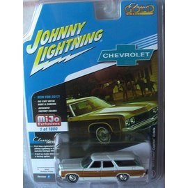 Johnny Lightning Johnny Lightning 1973 Chevy Caprice Estate Wagon White 2017 Series MiJo Exclusive 1:64 Scale Diecast Model Car