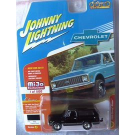 Johnny Lightning Johnny Lightning 1969 Chevy Blazer Black 2017 Series MiJo Exclusive 1:64 Scale Diecast Model Car