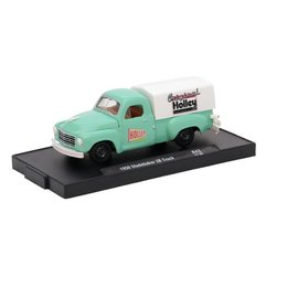 M2 Machines M2 Machines 1950 Studebaker 2R Truck Green HOLLEY Auto Drivers Series Release 43 1:64 Scale Diecast Model Car