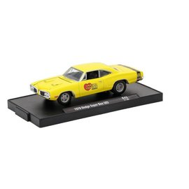 M2 Machines M2 Machines 1970 Dodge Super Bee Yellow Hooker Headers Auto Drivers Series Release 43 1:64 Scale Diecast Model Car