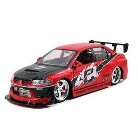 Jada Toys Jada Toys Sean's Mitsubishi Lancer Evolution VIII Red Fast & Furious 1:18 Scale Diecast Model Car