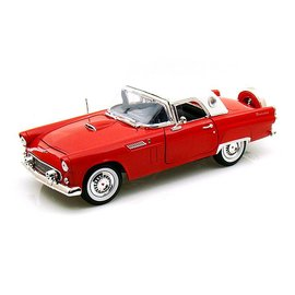 Motor Max 1956 Ford Thunderbird in Red Motor Max 1:18 Scale Diecast Model Car
