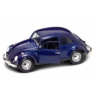 Road Signature Road Signature 1967 Volkswagen Beetle Dark Blue 1:18 Scale Diecast Model Car