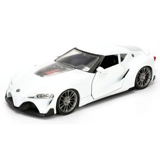 Jada Toys Jada Tuners Toyota FT1 Concept White 1:24 Scale Diecast Model Car