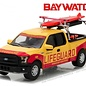 Greenlight Collectibles Greenlight 2016 Ford F-150 Emerald Bay Beach Patrol Baywatch Hollywood Series Release 16 1:64 Scale Diecast Model Car