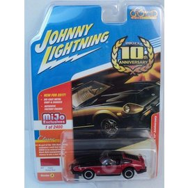 Johnny Lightning Johnny Lightning 1980 Datsun 280ZX 10th Anniversary Red MiJo Exclusive 1:64 Scale Diecast Model Car