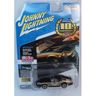 Johnny Lightning Johnny Lightning 1980 Datsun 280ZX 10th Anniversary Gold MiJo Exclusive 1:64 Scale Diecast Model Car