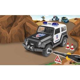 Revell-Monogram RMX Revell Junior Kit Build It Yourself Police Off Road Vehicle Plastic Model Kit