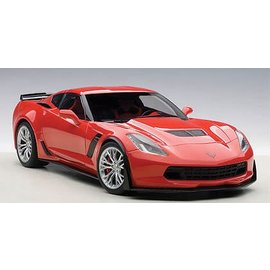 Auto Art Auto Art Chevrolet Corvette C7 Z06 Torch Red 1:18 Scale Diecast Model Car