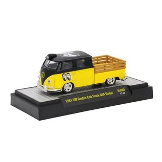 M2 Machines M2 Machines 1961 VW Double Cab Truck USA Model Mooneyes MiJo Exclusive 1:64 Scale Diecast Model Car