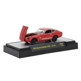 M2 Machines M2 Machines 1970 Nissan Fairlady Z Z432 Red Auto Japan Series Release 1 1:64 Scale Diecast Model Car
