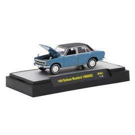 M2 Machines M2 Machines 1969 Nissan Bluebird 1600 SSS Blue Auto Japan Series Release 1 1:64 Scale Diecast Model Car