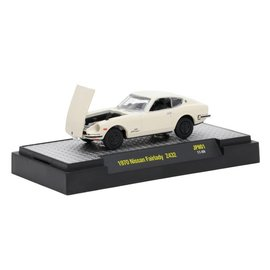 M2 Machines M2 Machines 1970 Nissan Fairlady Z Z432 White Auto Japan Series Release 1 1:64 Scale Diecast Model Car