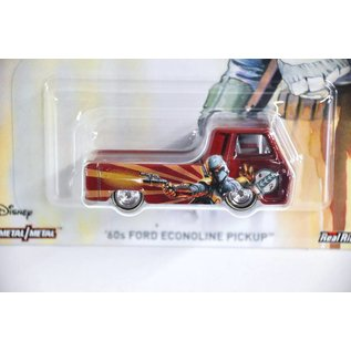 Hot Wheels Hot Wheels '60's Ford Econoline Pickup Star Wars Boba Fett Bounty Hunter Series 1:64 Scale Diecast Model Car