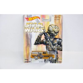 Hot Wheels Hot Wheels 1964 GMC Panel Star Wars  4-LOM Bounty Hunter Series 1:64 Scale Diecast Model Car